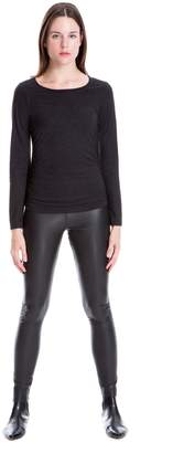 Max Studio stretch leatherette leggings
