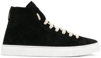 Low Brand hi-top sneakers