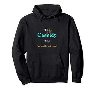 Cassidy - Personalized Name Unisex Pullover Hoodie