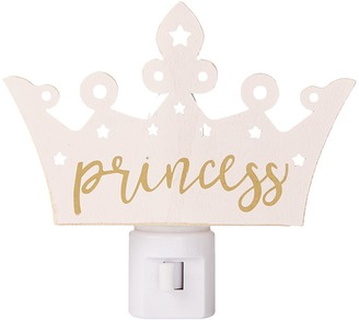 Mud Pie - Princess Crown Night Light Accessories Travel $16 thestylecure.com