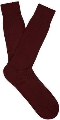 Pantherella Danvers ribbed-knit socks