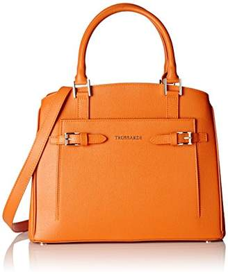 Tru Trussardi Women's 76b32253 Tote Bag orange