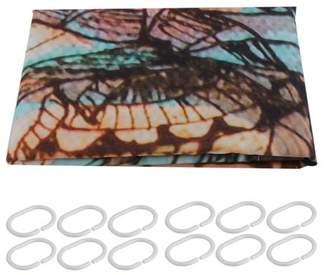 """Musiccrazyor Shower Curtain 3D Elephant Print Art Design Bathroom Decor Waterproof Polyester 60""""x70"""""""