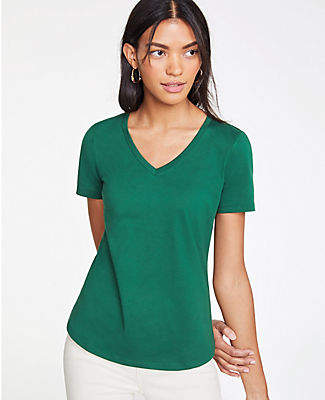 1fde6ad982dbb Green Pima Cotton Women s Tops - ShopStyle