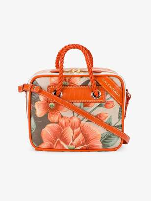 Balenciaga Floral Blanket Small cross body bag
