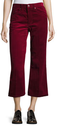 Marc Jacobs Cropped Corduroy Pants