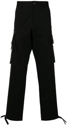 Versace multi-pocket trousers