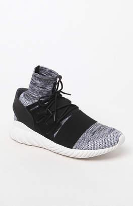 adidas Tubular Doom Primeknit Black & Gray Shoes