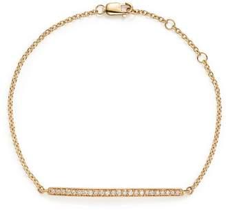Bloomingdale's Diamond Bar Bracelet in 14K Yellow Gold, .25 ct. t.w. - 100% Exclusive