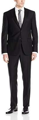 DKNY Men's Dominic Slim Fit Single Breast 2 Button Suit