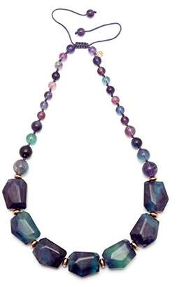 Lola Rose Lucy Rainbow Fluorite Necklace of 27cm