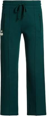 Etoile Isabel Marant Dobbs Straight Leg Track Pants - Womens - Green