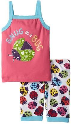 Hatley Rainbow Ladybugs Sleeveless Pajama Set Girl's Pajama Sets