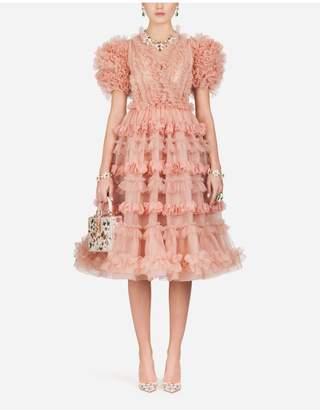 Dolce & Gabbana Organza Ballerina Dress