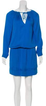 Diane von Furstenberg Pleated Mikino Dress