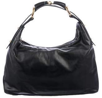 Gucci Leather Horsebit Hobo