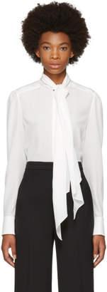 Chloé White Tie Blouse