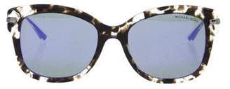 Michael Kors Holographic Mirrored Sunglasses