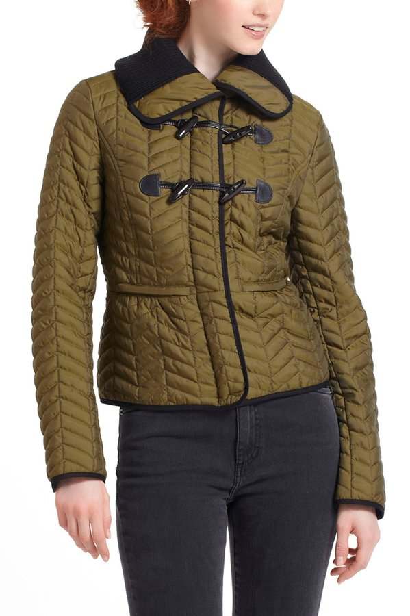 Anthropologie Uster Quilted Jacket