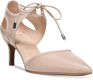Franco Sarto Darlis Ankle-Tie Pointed-Toe Pumps Women's Shoes