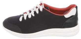 Tory Sport Woven Low-Top Sneakers