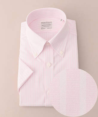 gotairiku (五大陸) - [五大陸] サマープレミアムプリーツ ドレスシャツ ボタンダウン 半袖(HHGOYM0503)