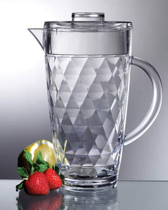 Prodyne 70Oz Diamond-Cut Pitcher With Lid