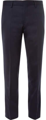 HUGO BOSS Genesis Slim-Fit Virgin Wool-Flannel Trousers