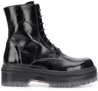 Tosca platform biker boots