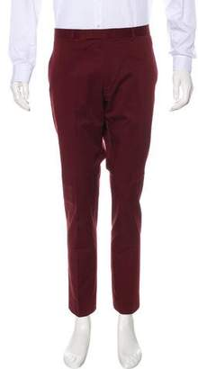Gucci Flat Front Woven Pants