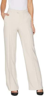 Halston H By H by Petite Stretch Suiting Wide Leg Pants