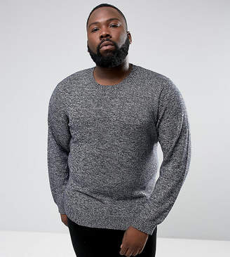 French Connection PLUS Melange Fleck Knitted Sweater