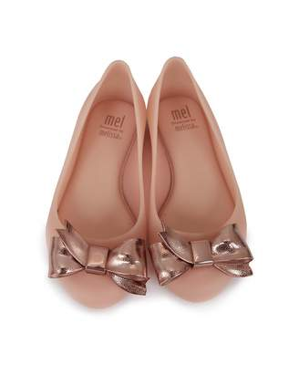 Mini Melissa Space Love Dream Sparkle Ballet Pumps Colour: BLUSH, Size