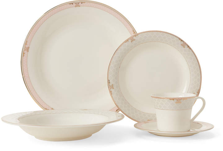 Joseph Sedgh Crackle Fine Bone China 20-Piece Set