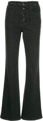 Sonia Rykiel high waist button jeans