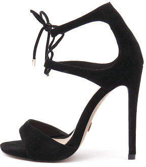 Wanted New Pompano Black Womens Shoes Casual Sandals Heeled