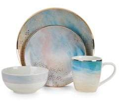 ... American Atelier Soiree Agate 16-Piece Dinnerware Set  sc 1 st  ShopStyle : atelier dinnerware - Pezcame.Com