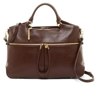 Hobo City Light Tote Leather Satchel Bag