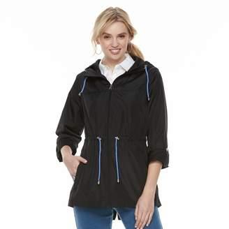 Details Women's Hooded Packable Anorak Jacket
