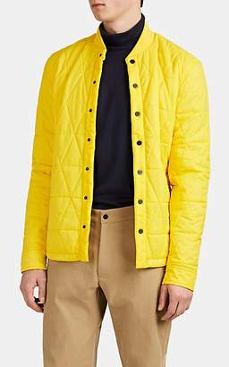 Aztech Mountain Men's Corkscrew Quilted Shirt Jacket - Yellow