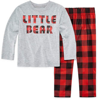 Co North Pole Trading Company Plaid 2 Piece Pajama - Unisex Toddler
