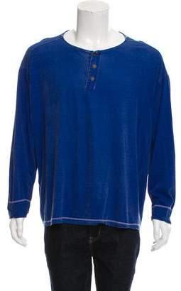 Giorgio Armani Knit Henley T-Shirt