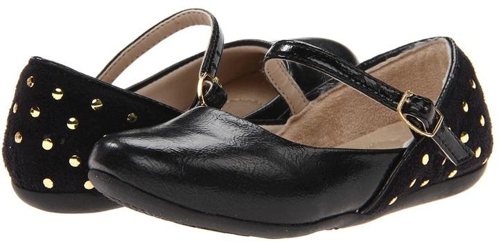 Pampili Bailarina (Toddler/Little Kid) (Black) - Footwear