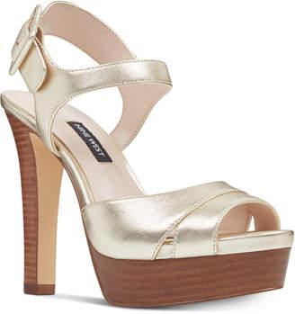 Nine West Ibyn Platform Sandals Women's Shoes