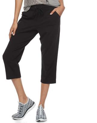 Tek Gear Women's Moisture-Wicking Capri Pants
