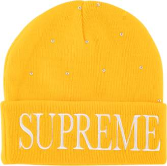 Supreme Studded Beanie - 'FW 18' - Yellow