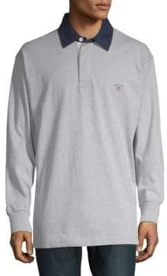 Gant Regular-Fit Long-Sleeve Polo Shirt