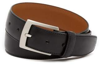 Bosca Edge Stitched Leather Belt