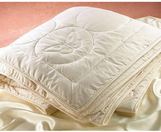 Silk Filled Quilted Comforter, Twin Bedding
