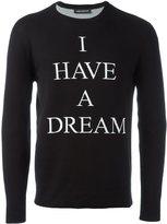 Neil Barrett 'I have a dream'套头衫